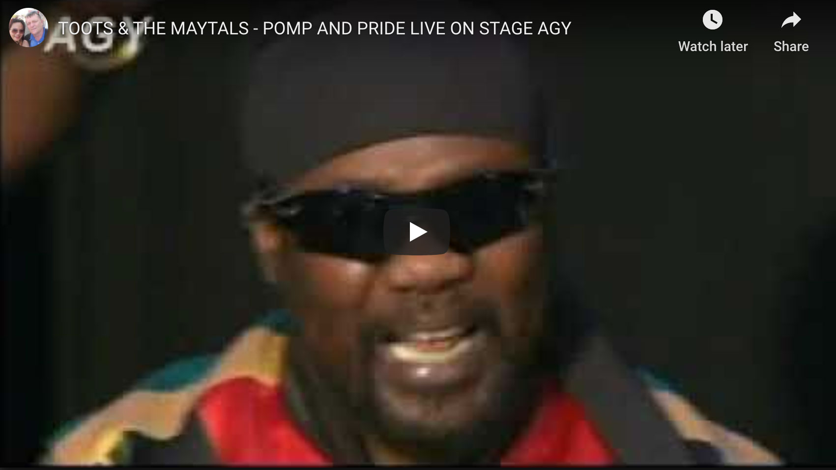 Toots and The Maytals Pomp and Pride